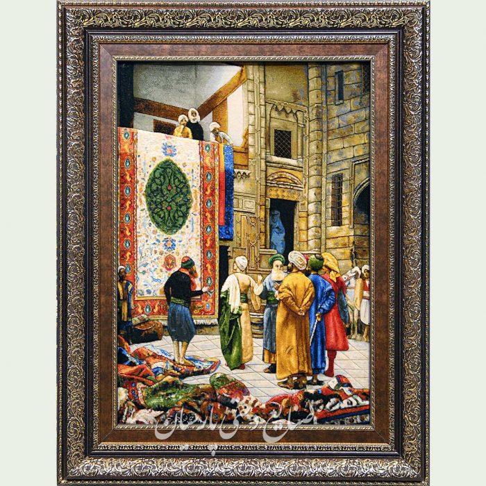 تابلو فرش بازار قاهره (فرش فروشها)
