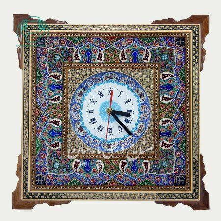 قاب خاتم نقاشی تذهیب ساعت سایز 15 نقاشی