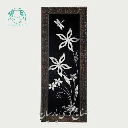قاب گل نقره پارسیان دو گل